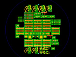MEMS devices on 4 inch Wafer